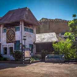 New Festival of the Lion King theater exterior