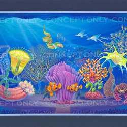 Finding Nemo - The Musical concept art