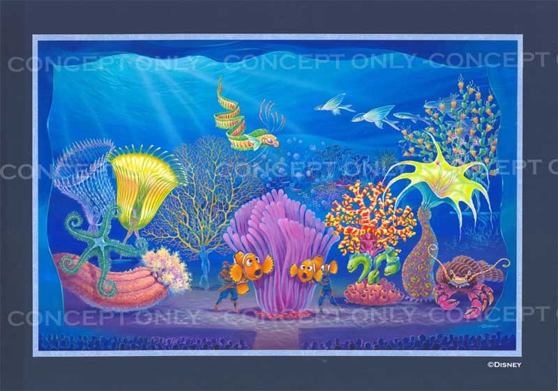 Finding Nemo - The Musical concept art