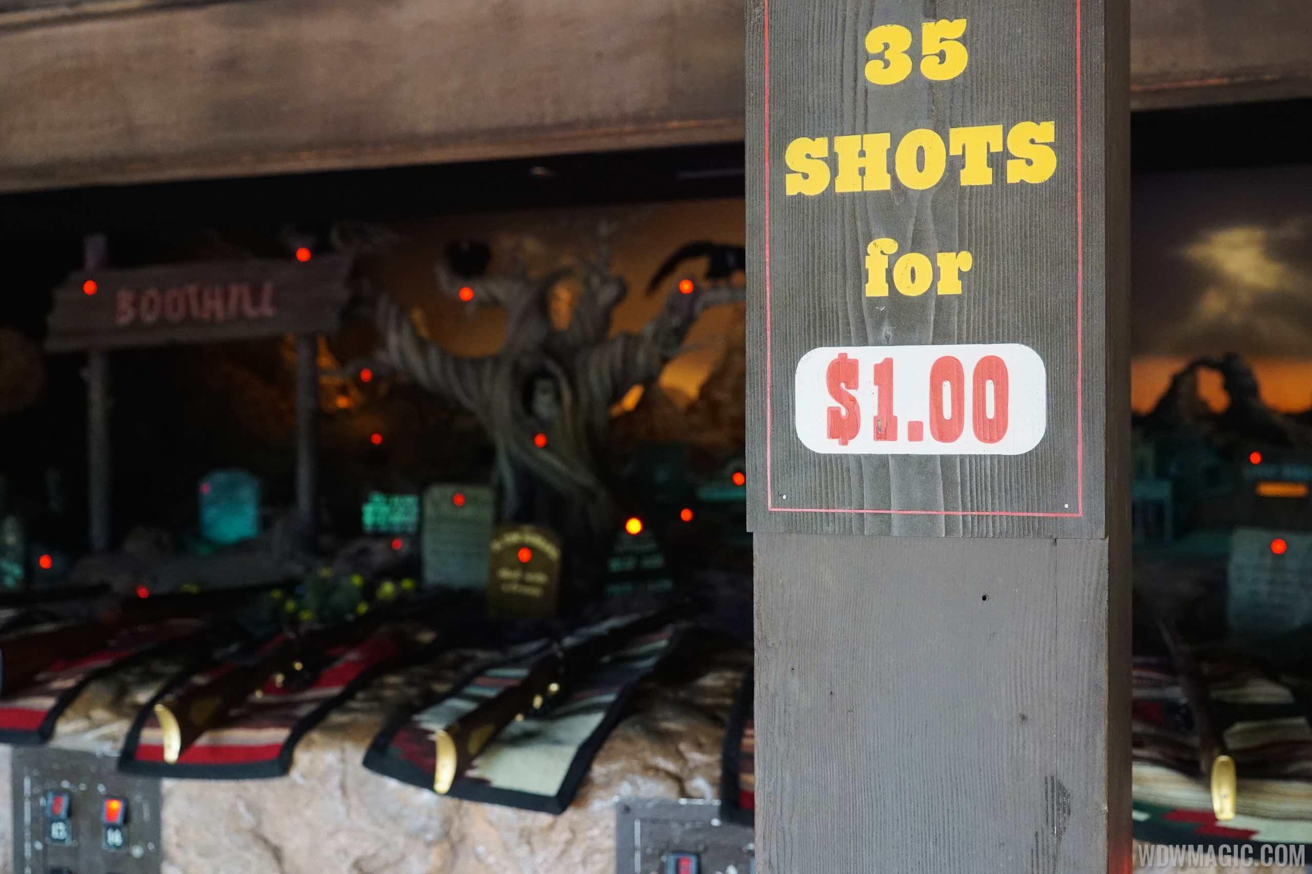 Frontierland Shootin' Arcade overview
