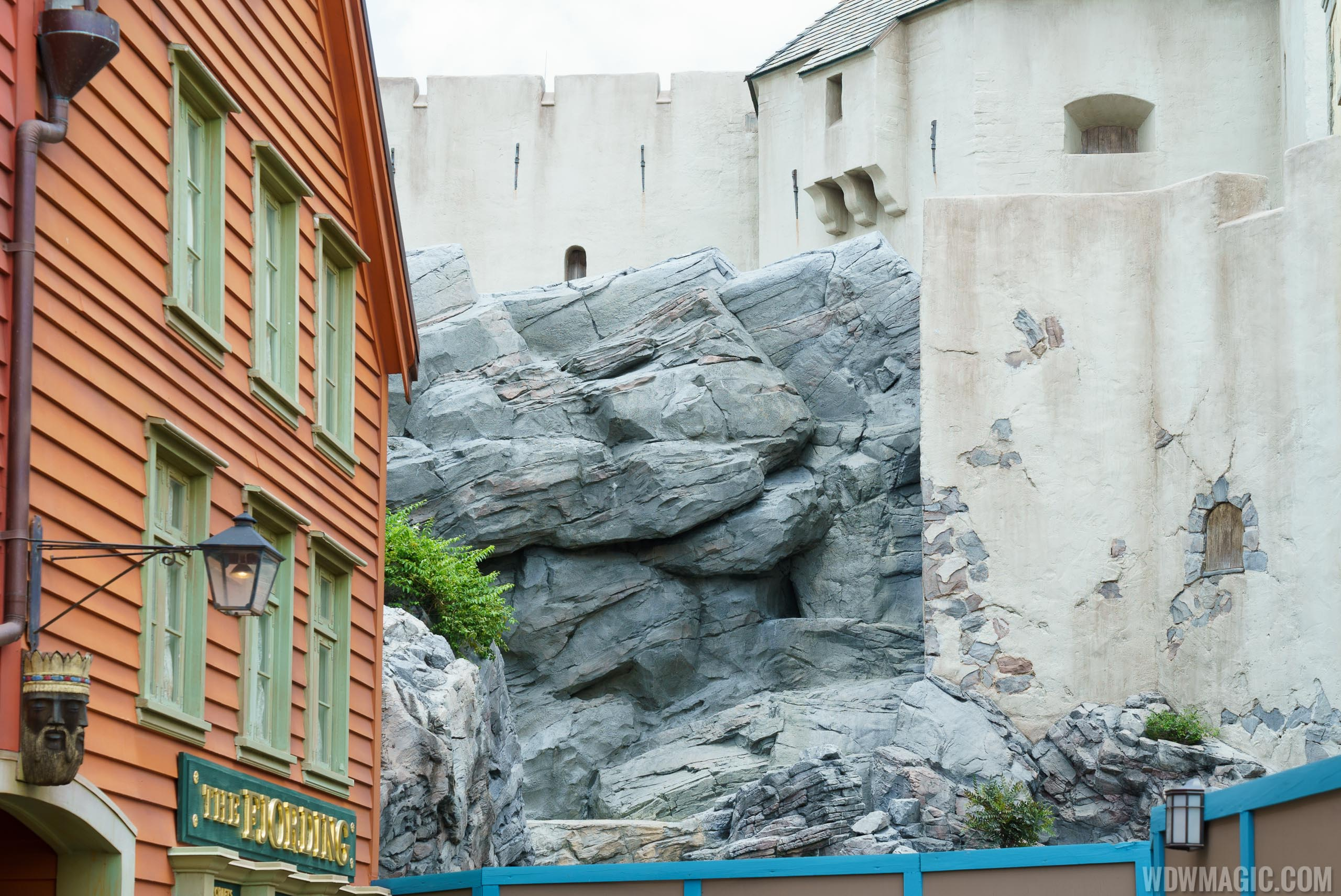 Frozen Ever After construction