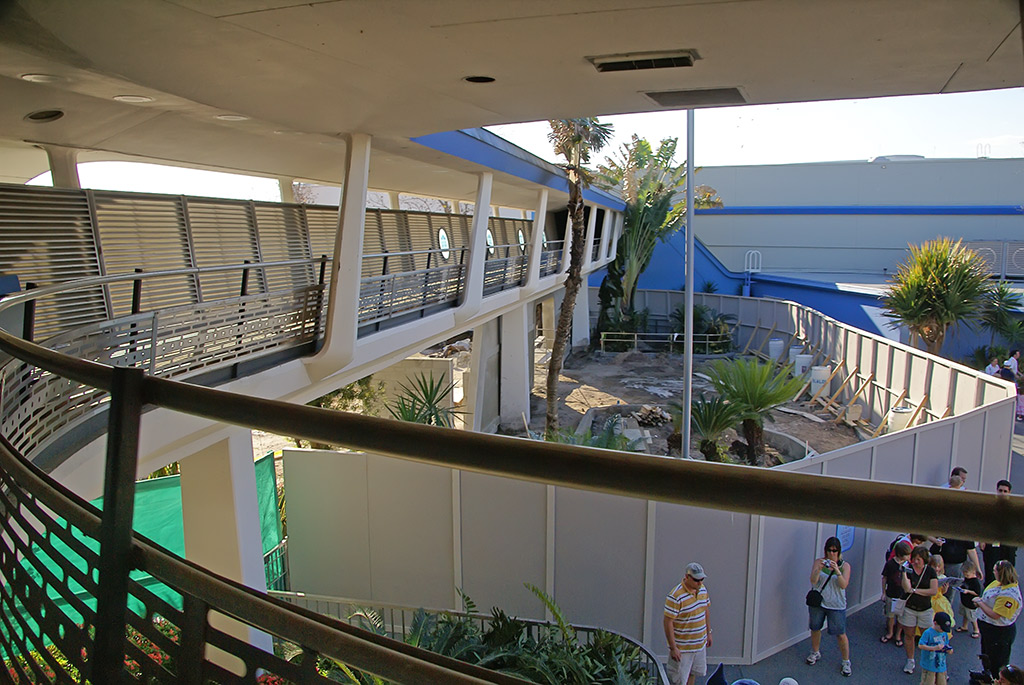 Galaxy Palace Theater area construction