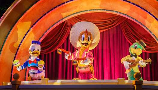 VIDEO - Epcot's Gran Fiesta Tour Starring the Three Caballeros gets new animatronic finale
