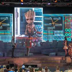 Guardians of the Galaxy - Awesome Mix Live! show