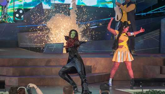 Guardians of the Galaxy Awesome Mix Live! returns to Epcot today