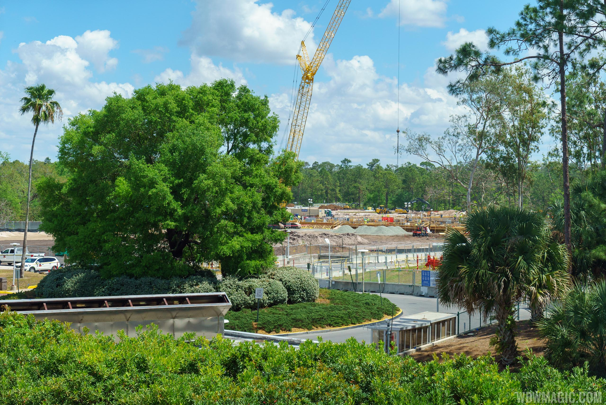 Guardians of the Galaxy construction - April 2018