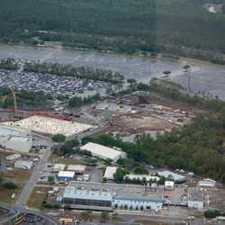 Guardians of the Galaxy construction aerial views - May 2018