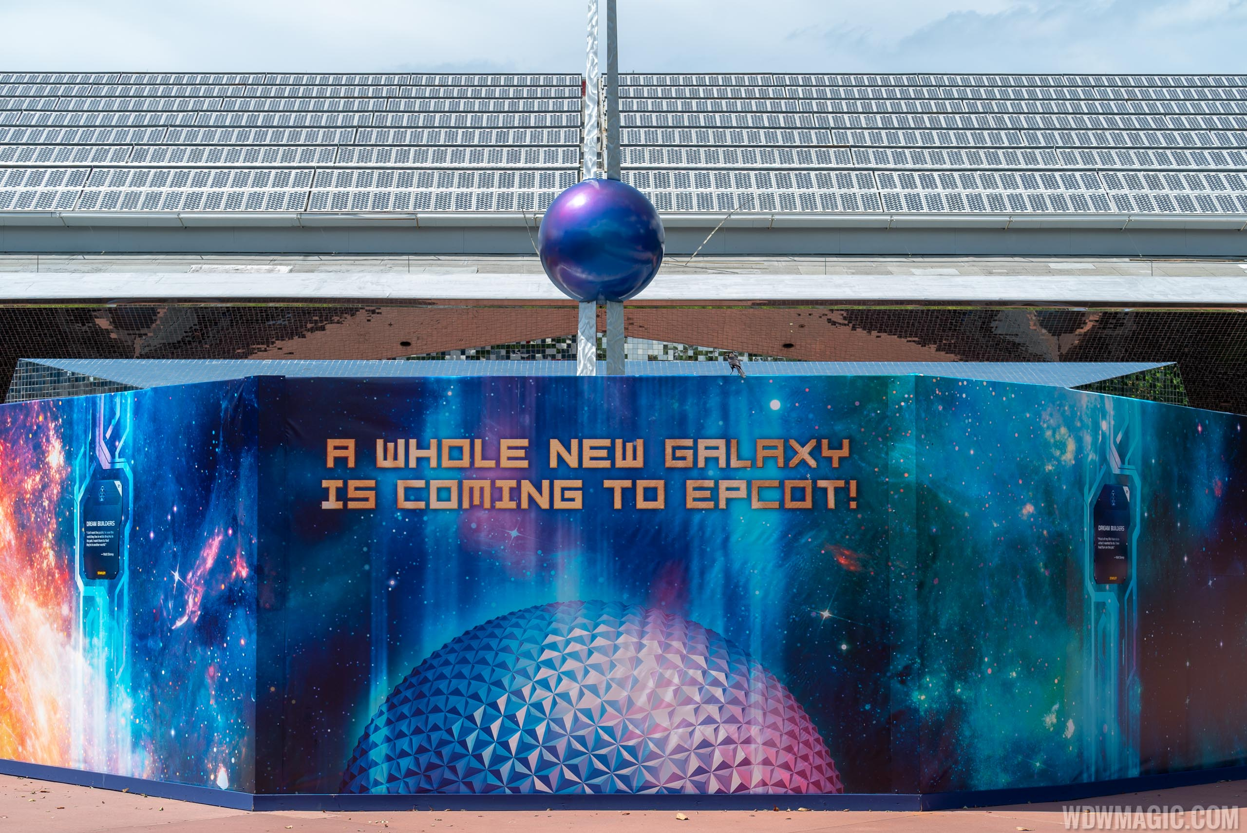 Guardians of the Galaxy coaster construction - June 2018