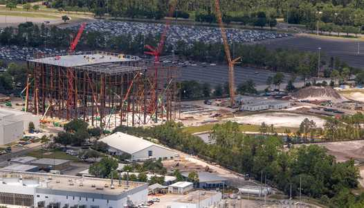 PHOTOS - Guardians of the Galaxy construction update from the air