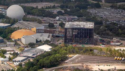 PHOTOS - Guardians of the Galaxy construction update at Epcot