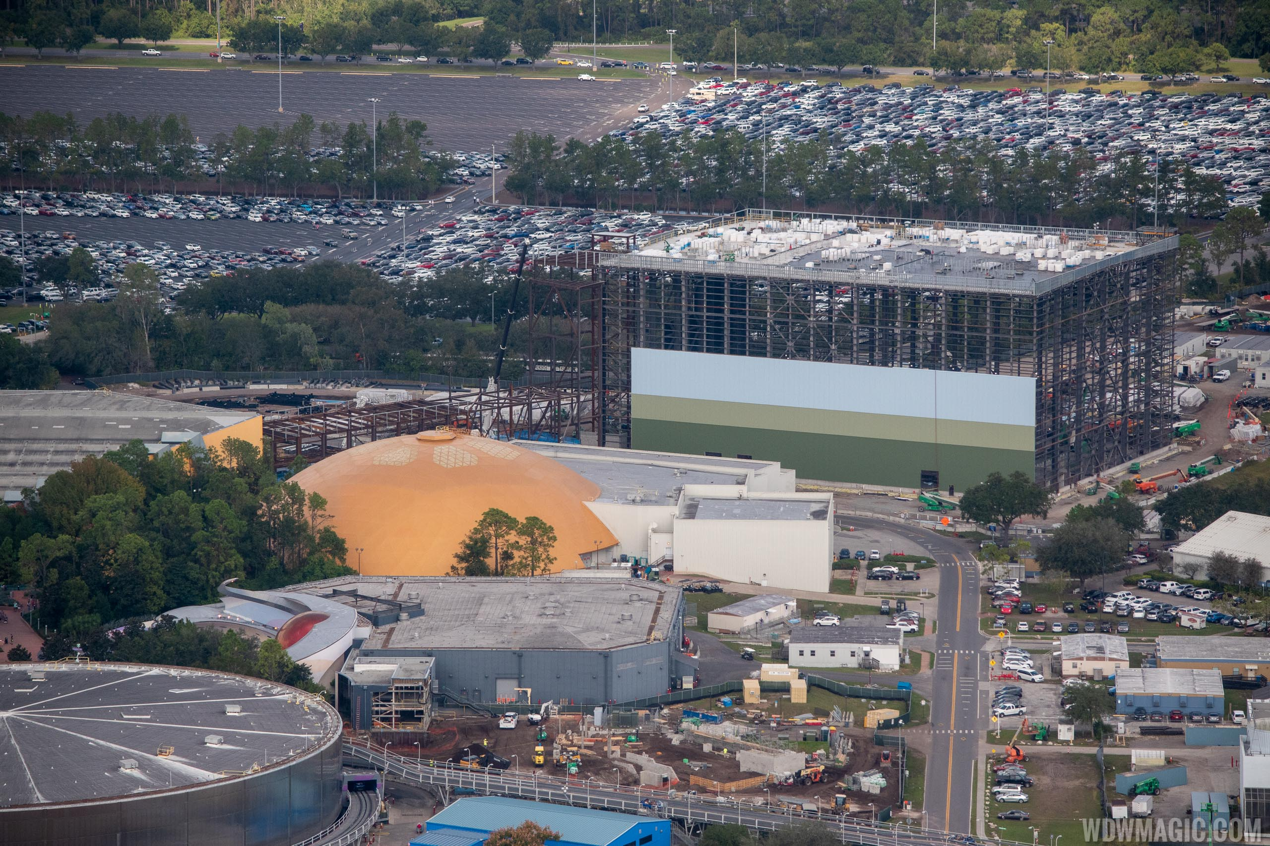 Guardians of the Galaxy construction - November 2018