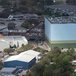 Guardians of the Galaxy construction - February 2019
