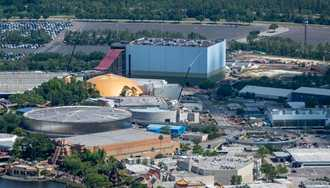 PHOTOS - Guardians of the Galaxy construction at Epcot