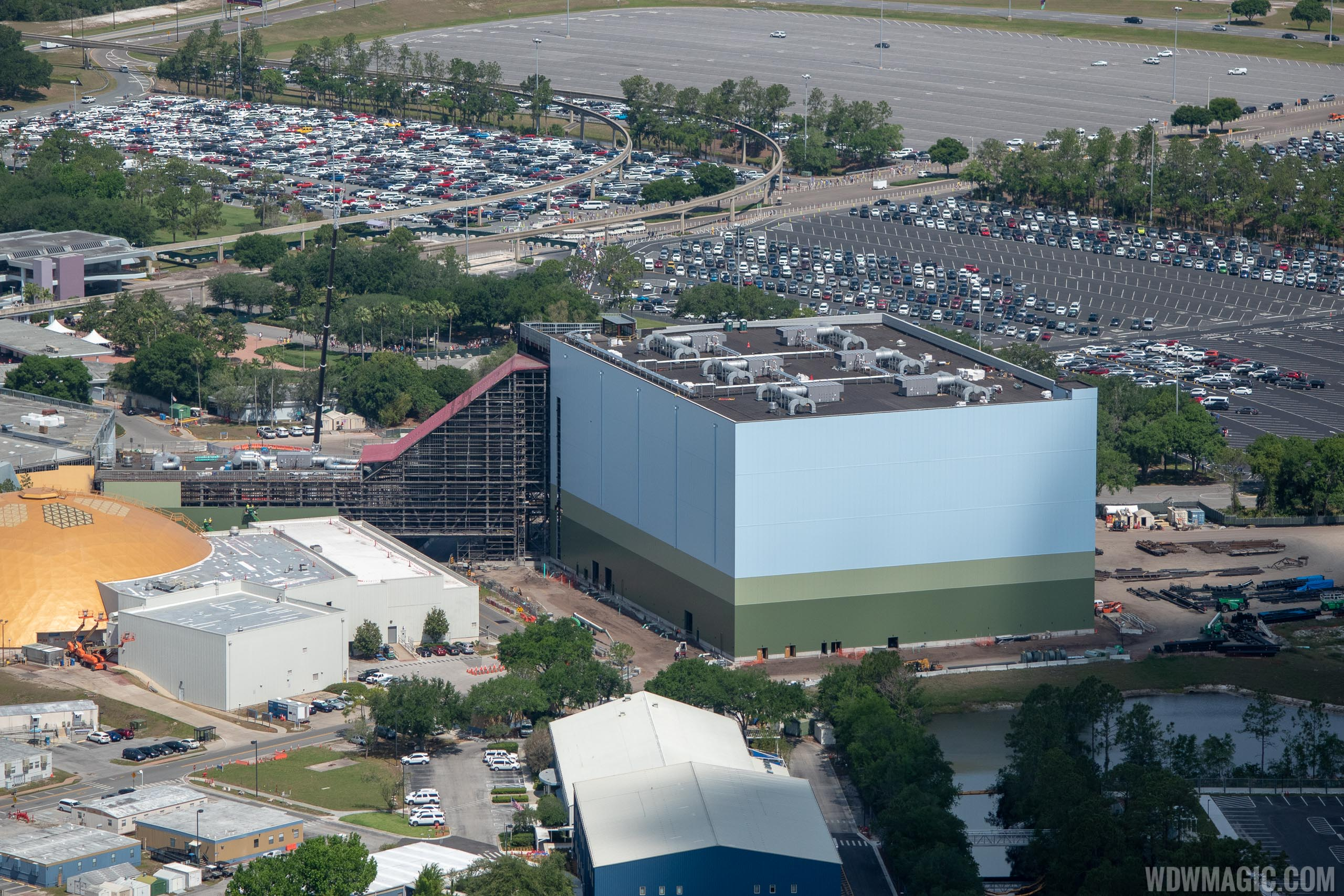 Guardians of the Galaxy construction - May 2019