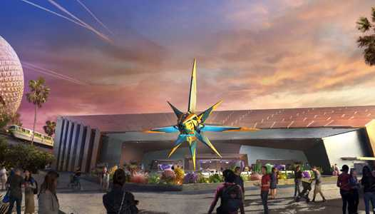 Filmmaker James Gunn comments on Guardians of the Galaxy Cosmic Rewind at EPCOT