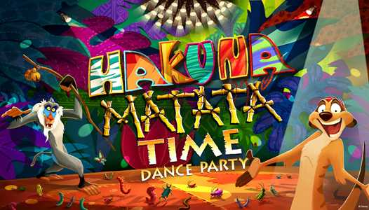 Hakuna Matata Time Dance Party coming to Disney's Animal Kingdom in 2019
