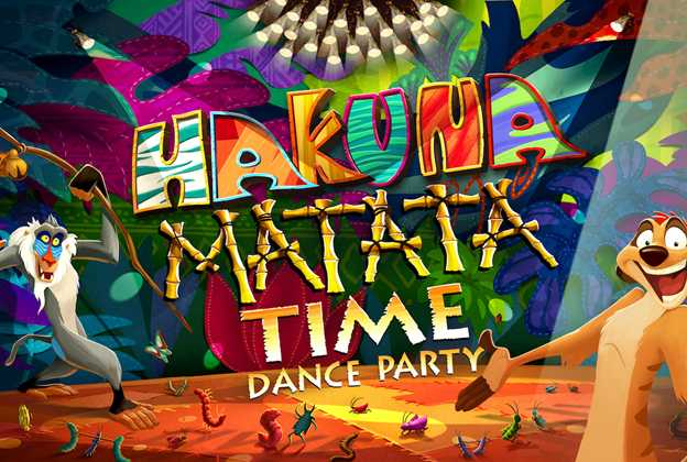 Hakuna Matata Time Dance Party concept art