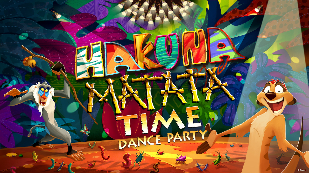 Hakuna Matata Time Dance Party concept art