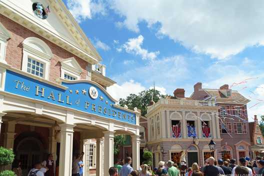 Are the Muppets about to takeover the Hall of Presidents?