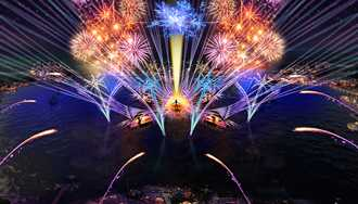 PHOTO - Epcot's new nighttime spectacular to be called 'HarmonioUS'