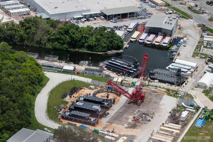 HarmonioUS barge construction - late June 2020