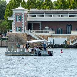 Divers in the World Showcase Lagoon
