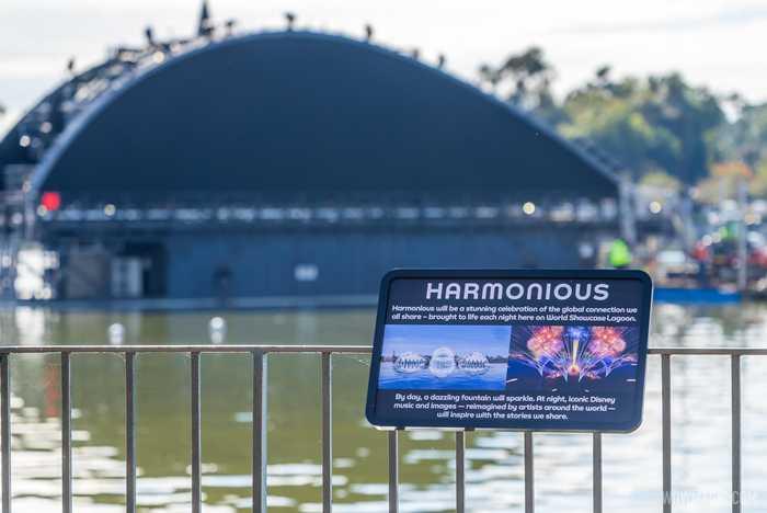 Harmonious signs around World Showcase