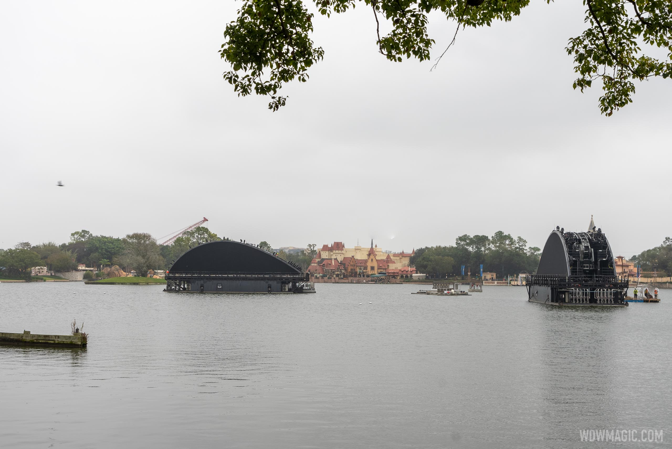 Second Harmonious show barge now in World Showcase Lagoon