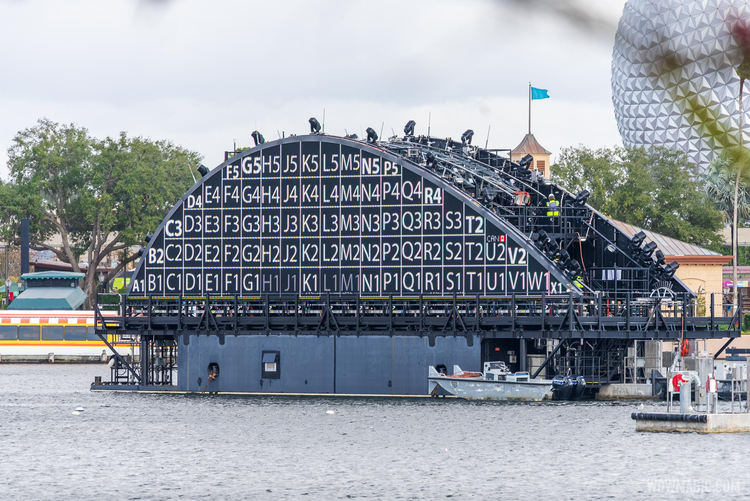 Harmonious barge testing