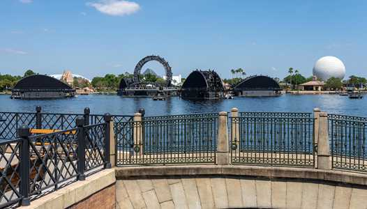 Harmonious water jet testing in EPCOT'S World Showcase