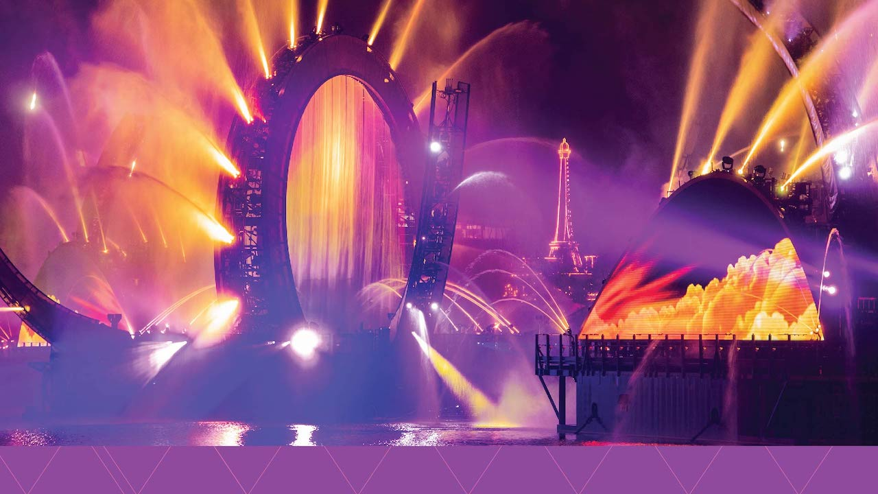 First look video from the upcoming Harmonious nighttime spectacular at EPCOT