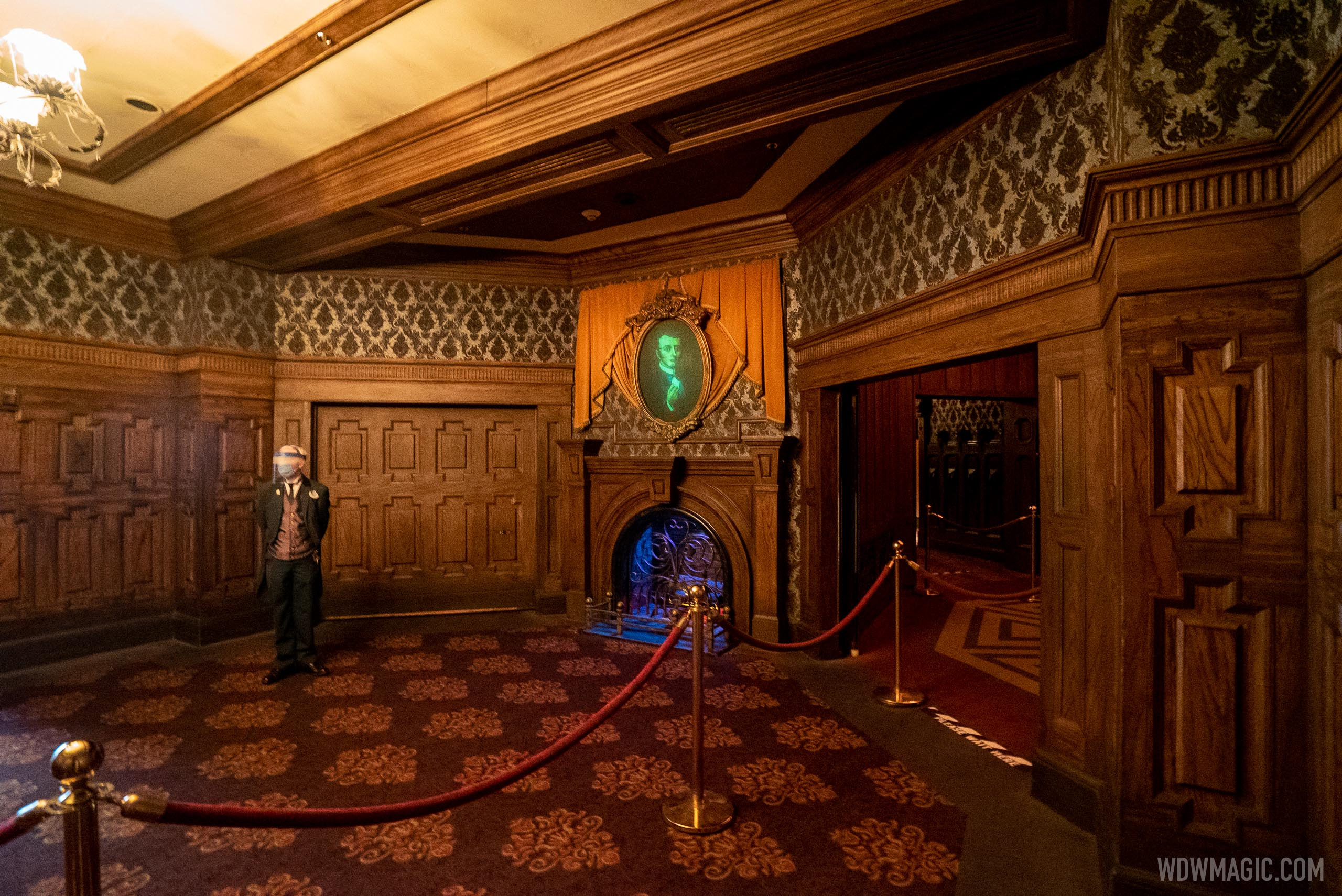 Haunted Mansion with stretch room bypass