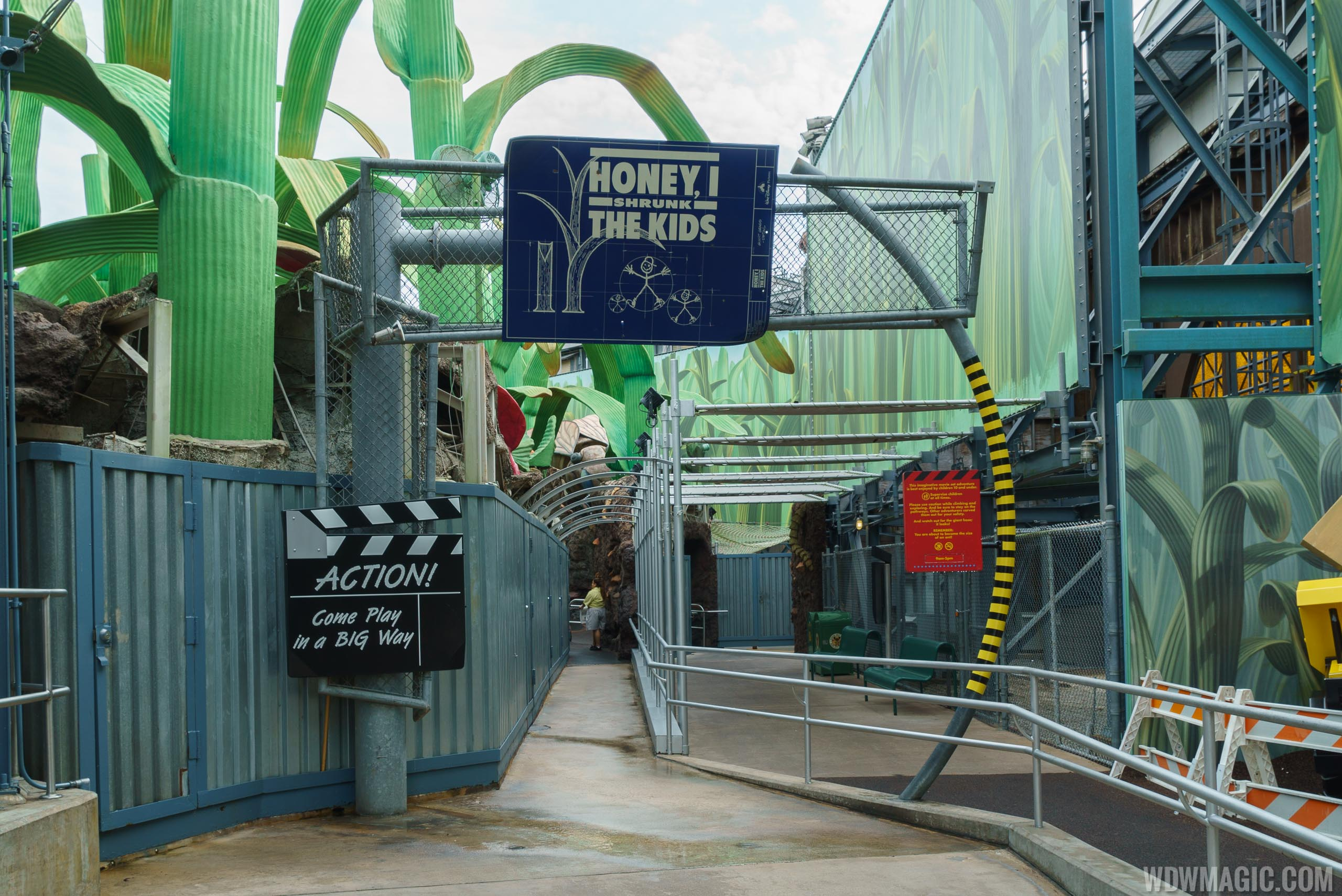 Honey, I Shrunk the Kids Movie Set Adventure overview