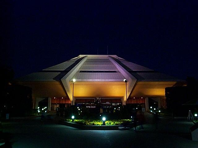 Night-time lighting scheme