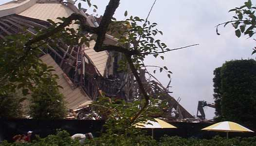 Latest Horizons demolition photos