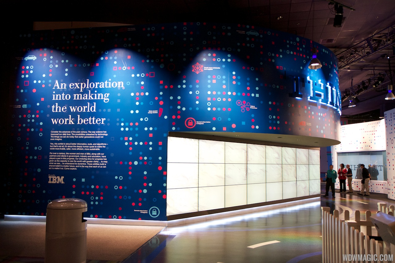 IBM THINK exhibit at Epcot  Innoventions - main entrance