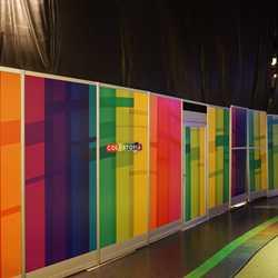 Colortopia construction walls