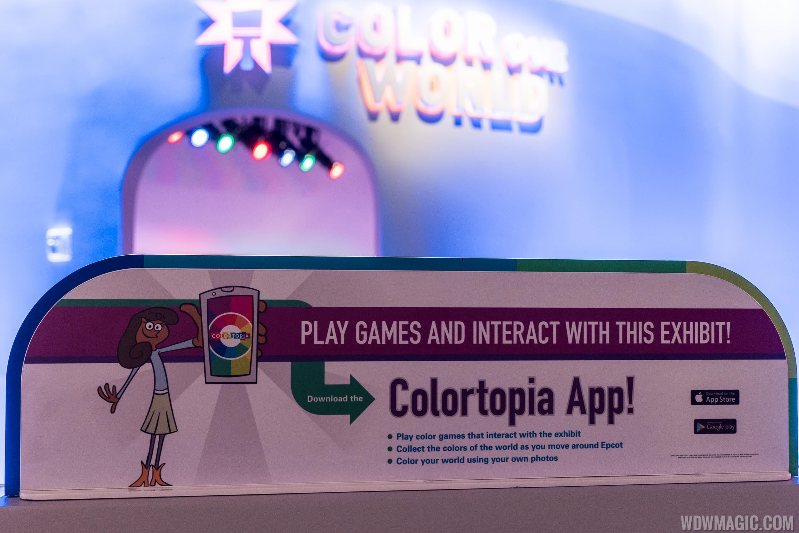 Colortopia app sign