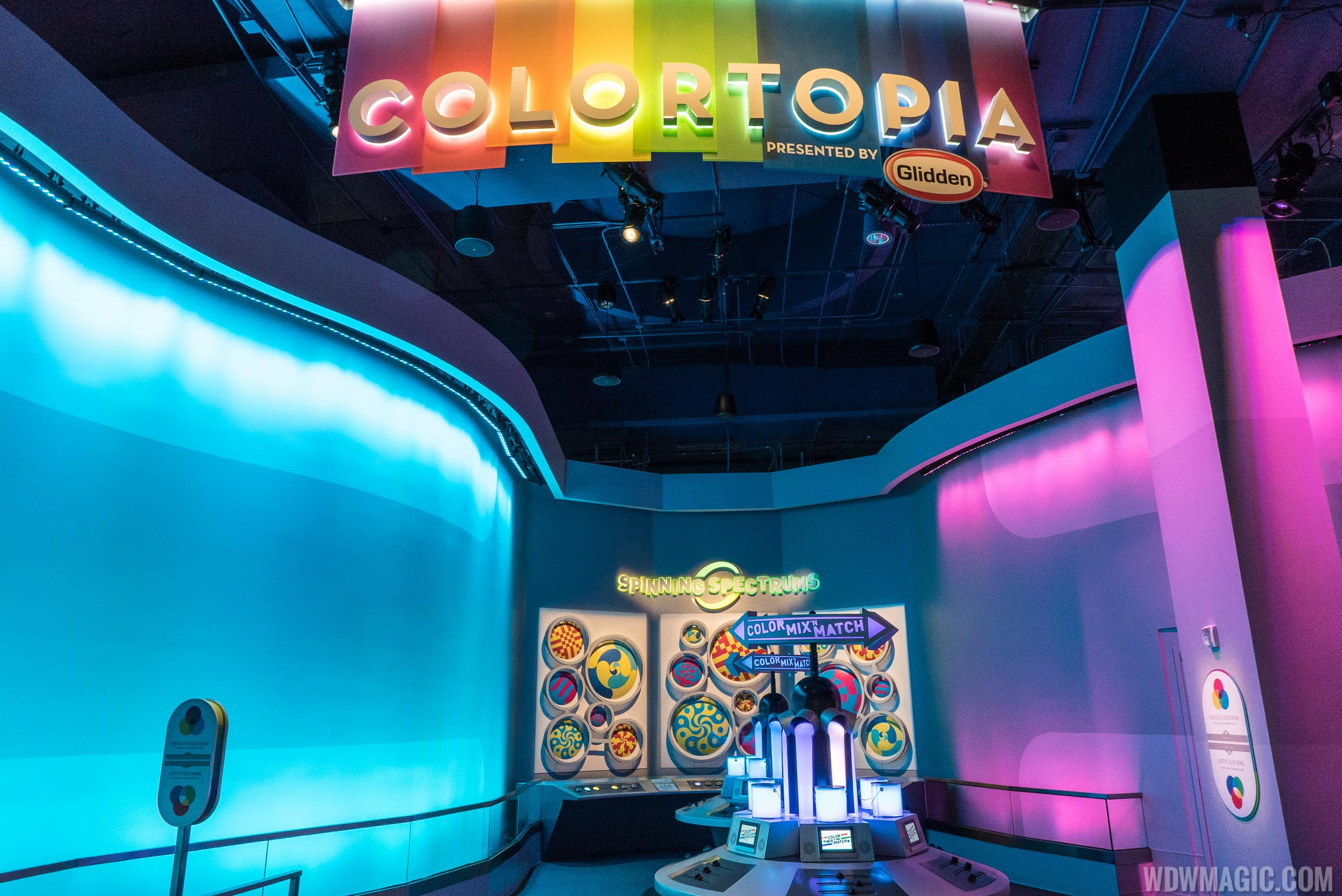 Colortopia exhibit