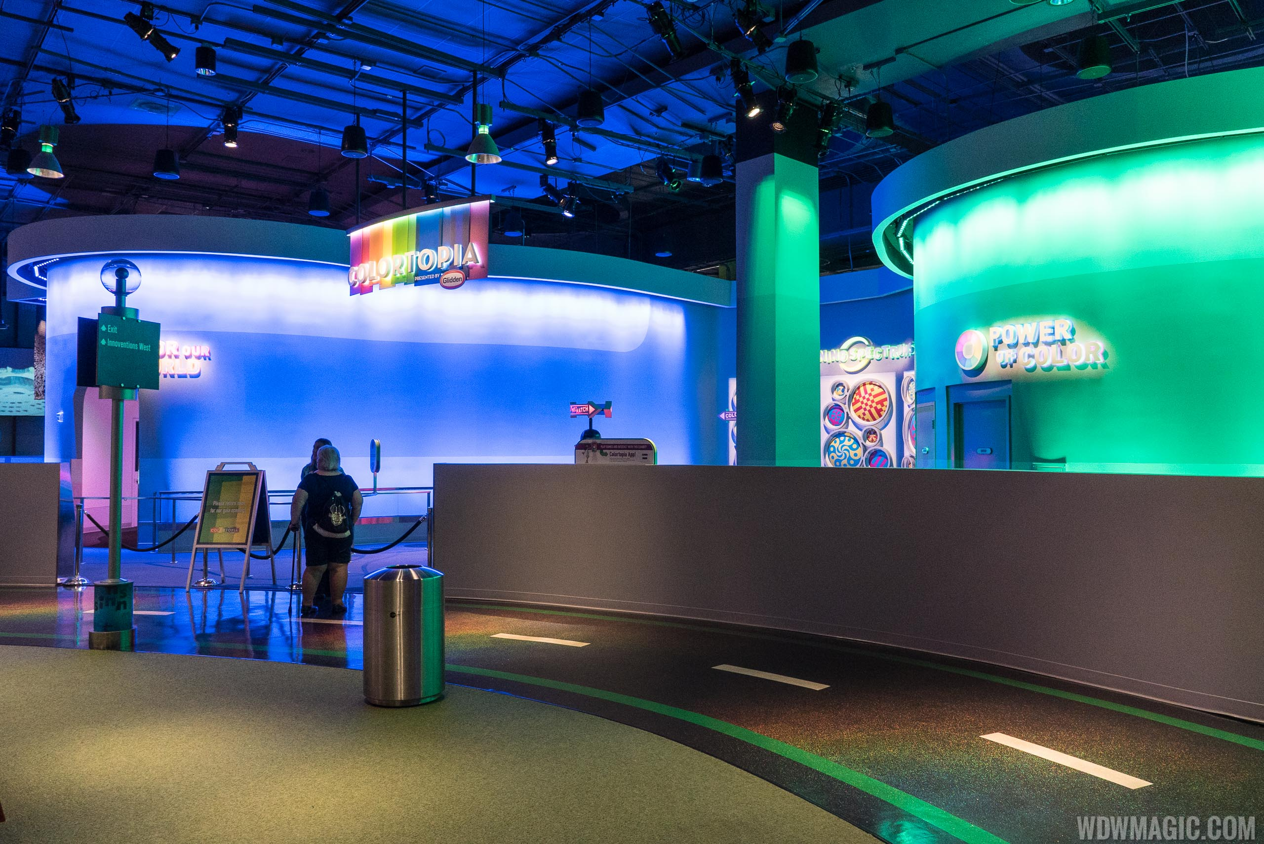 Colortopia at Epcot's Innoventions