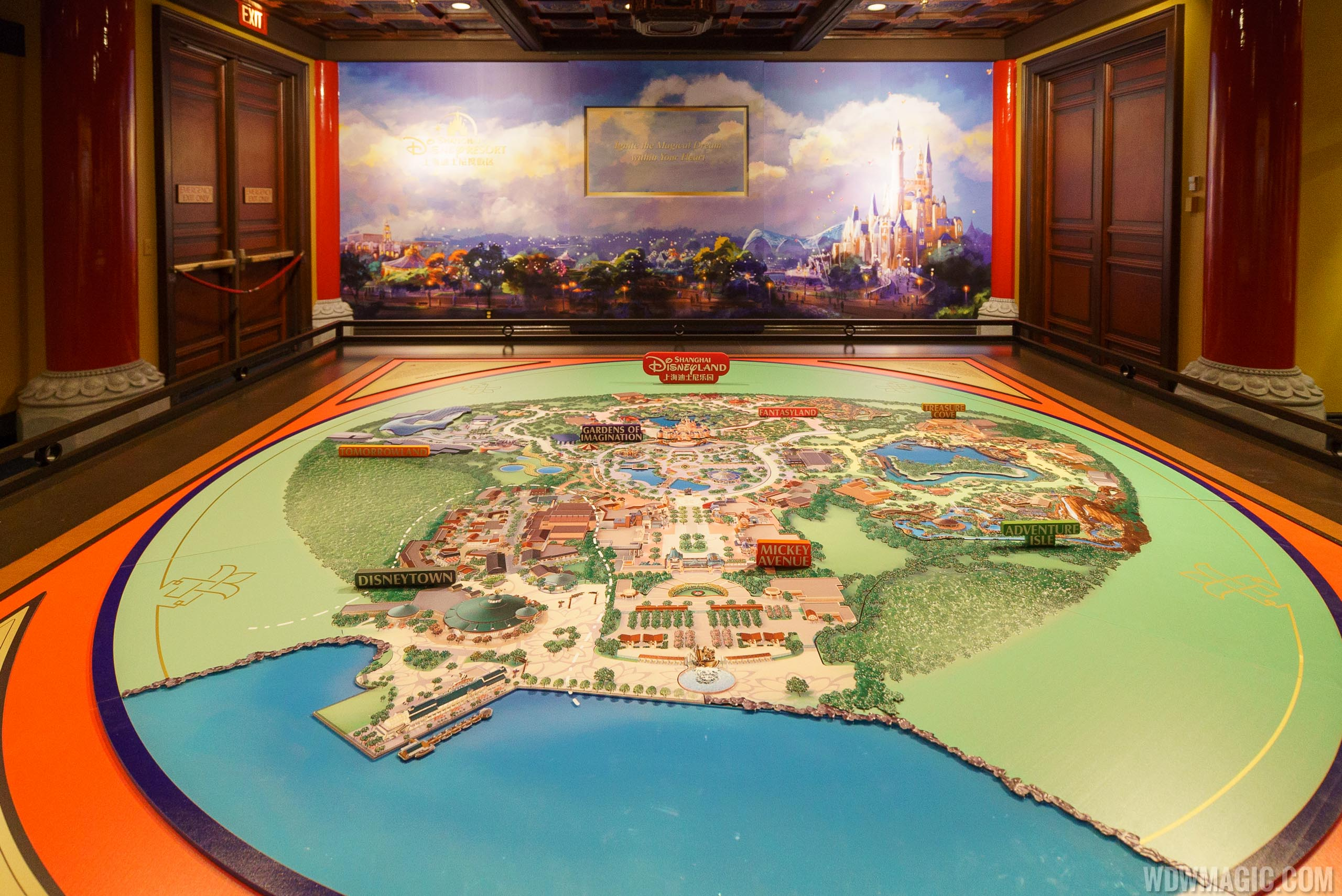 Inside Shanghai Disney Resort overview