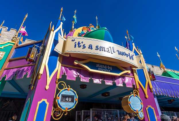 it's a small world exterior refurbishment completed - January 2021