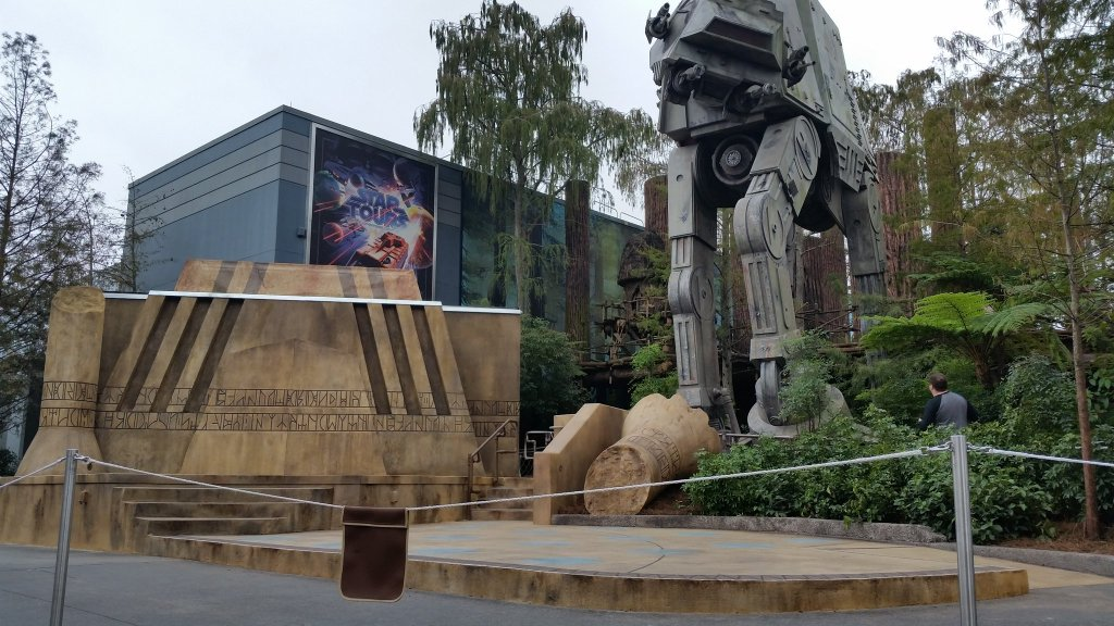 Jedi Training - Trials of the Temple stage pre-opening