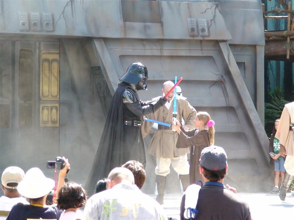The original Jedi Training Academy stage