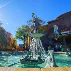 Muppets fountain restored in Grand Avenue