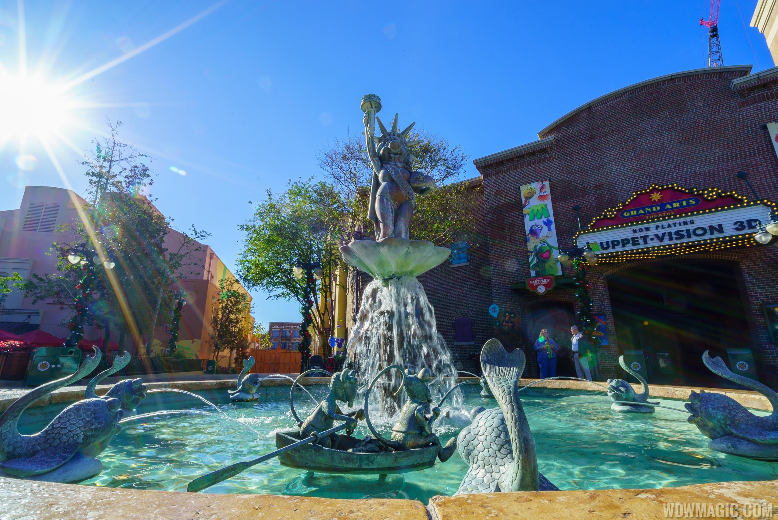 Muppets fountain restored in Grand Avenue