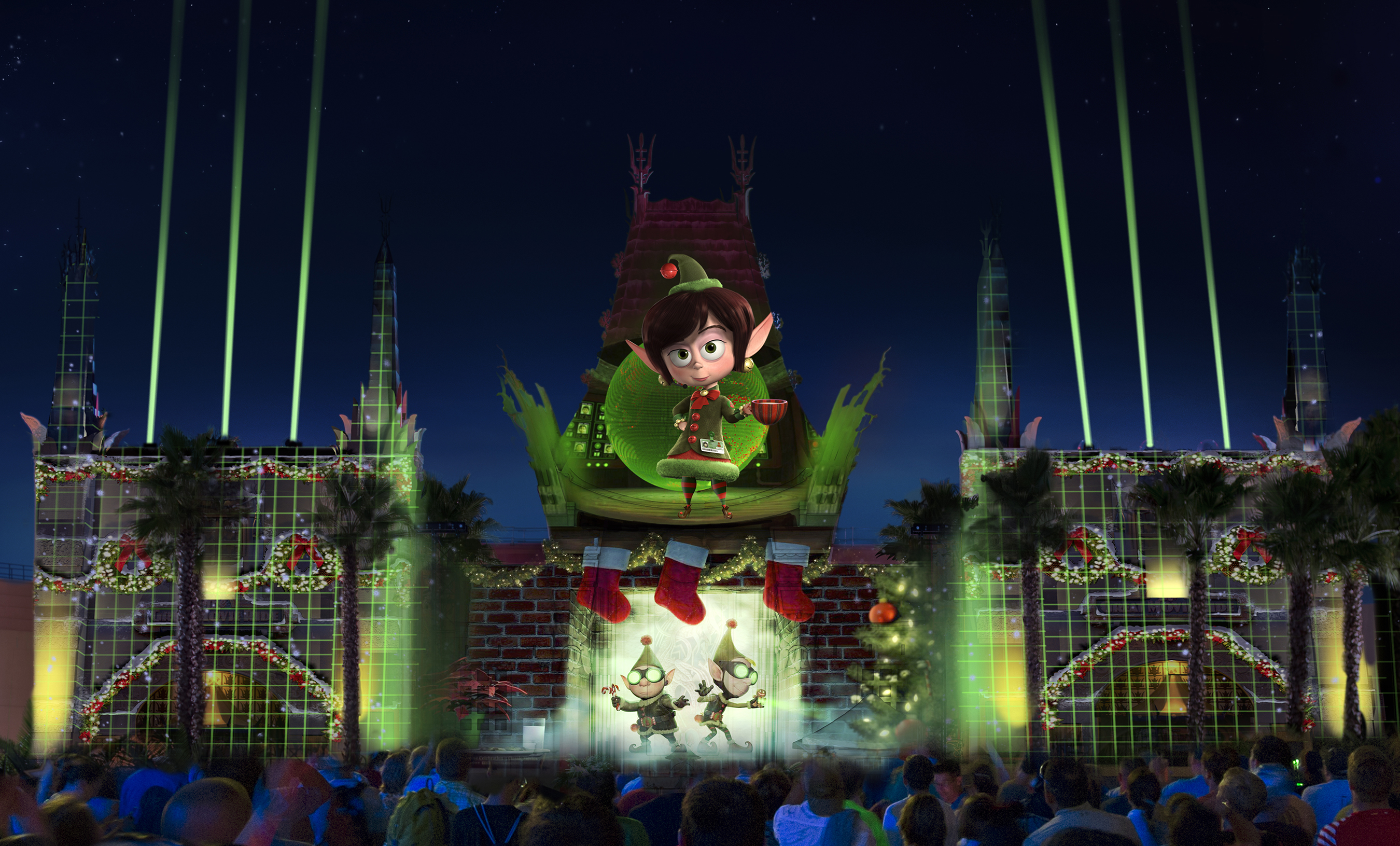 Jingle Bell, Jingle BAM! - Prep and Landing