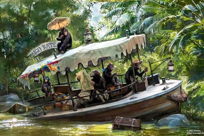 Jungle Cruise concept art