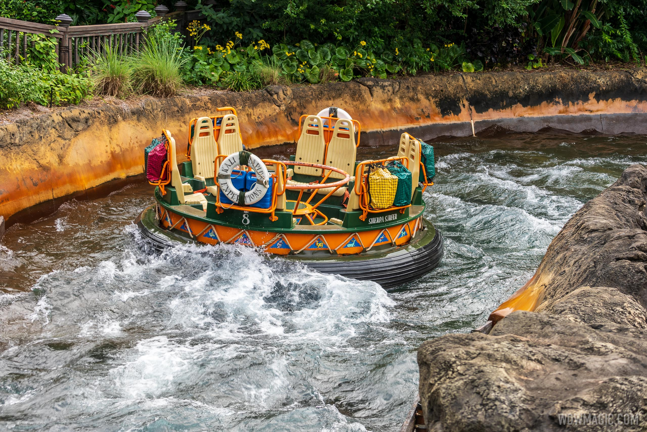 Kali River Rapids to begin delayed openings starting today at Disney's Animal Kingdom