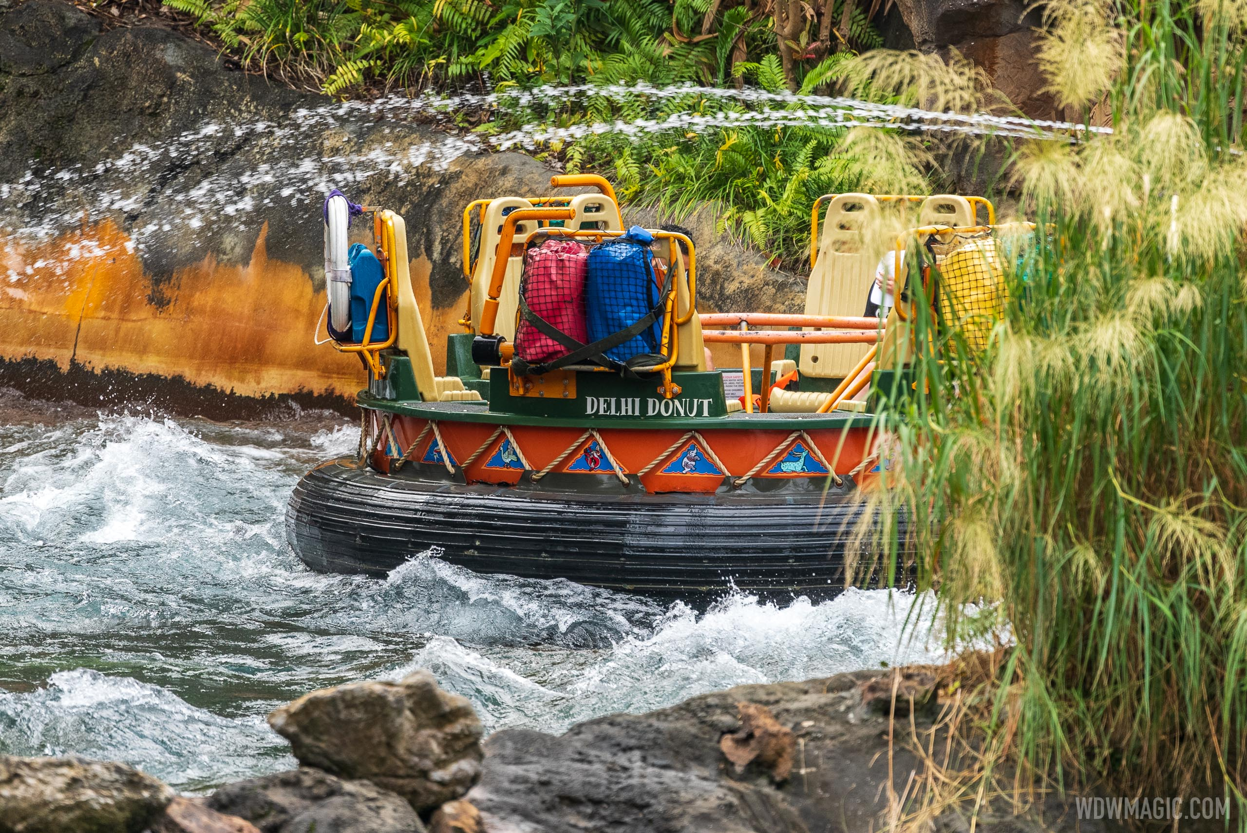 Kali River Rapids overview